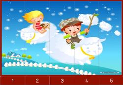 12 Puzzles numériques 1 à 5