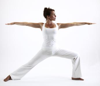 virabhadrasana guerrier yoga&vedas
