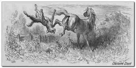 """Résultat de recherche d'images pour """"le cheval et le loup"""""""