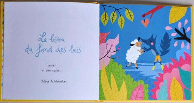 Le catalogue des Bisous bises et autres bécots de Lucile Ahrweiller éd Gauthier Languereau