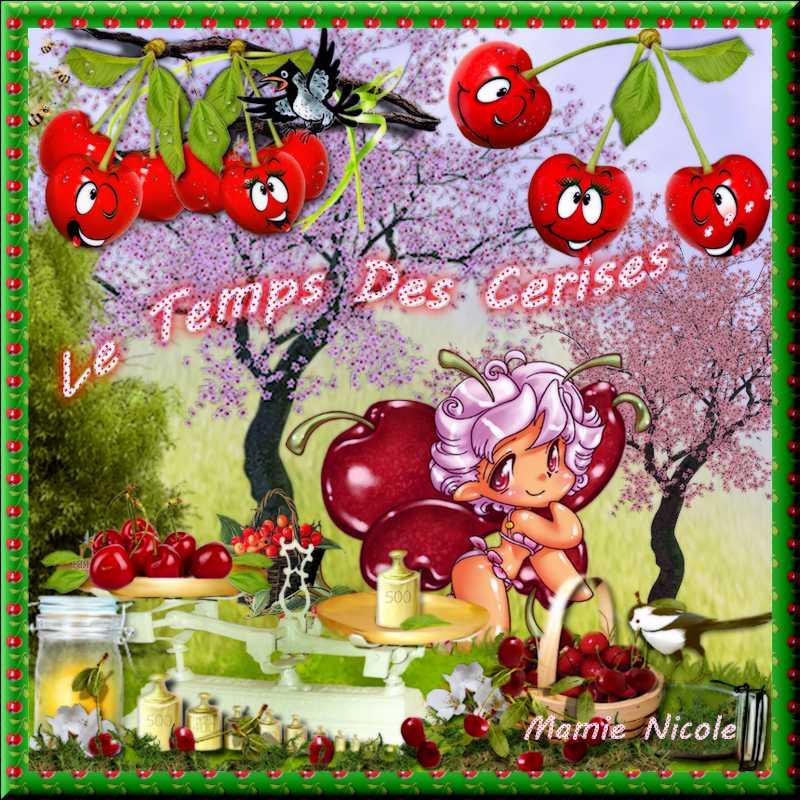 ♥ Défis babouchka et cluster Cerise déco ♥