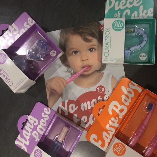 Découverte de la marque Curaprox : l'yhigiène buco-dentaire des enfants