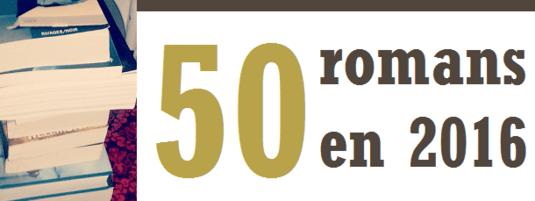 Challenge 50 livres en 2016