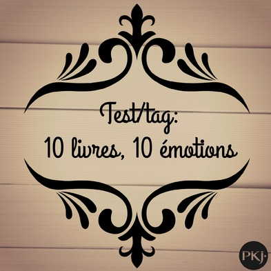 Tag : 10 livres, 10 émotions