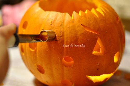 Tuto pour réaliser une Jack O' lantern ou lanterne citrouille pour Halloween
