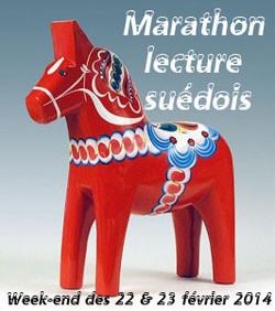 Marathon lecture suédois week-end des 22/23 février 2014