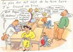 Compte-rendu de la réunion parents -enseignant