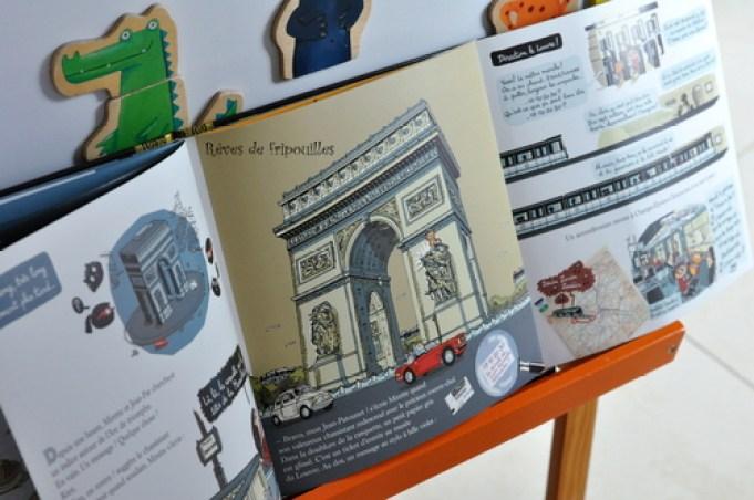 Panique à Paris de Fanny Joly et Laurent Audouin éditions Sarbacane