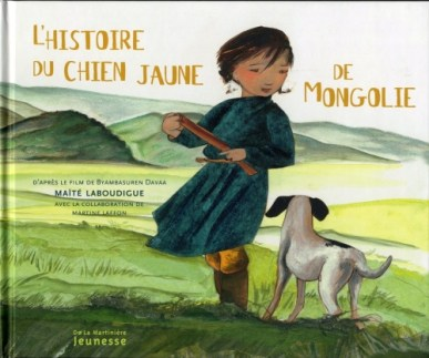 L'histoire du chien jaune de Mongolie