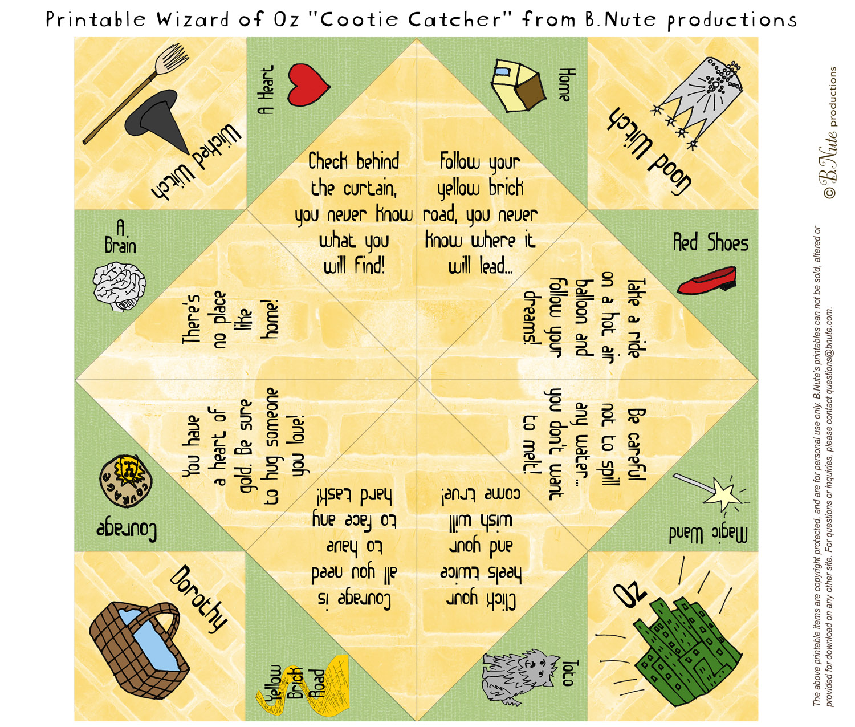 Esl Games Cootie Catchers Paper Fortune Tellers Salt