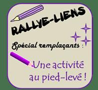 Rallye-liens - Une activité au pied levé pour les remplaçants