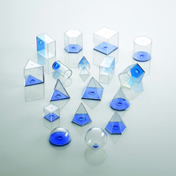 View-Thru Geometric Solids - 17 pcs.   Main Photo (Cover)