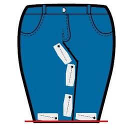Tuto : transformer un pantalon en jupe