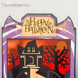 Halloween 2015 : les cartes tableaux de Dreamin Tree