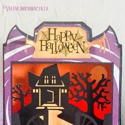 Halloween 2015 : les cartes tableaux de Dreamin Tree