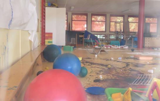 Melun, ce dimanche. Une vingtaine d'enfants, dont le plus jeune était âgé de 5 ans, ont vandalisé l'école des Mézereaux, ce samedi.