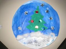 Boule à neige- déco de Noël