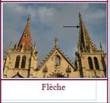 Cartes de nomenclature : art roman - art gothique