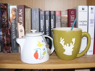 Auteure/Blogueuse à chat et à thé