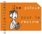 """Rallye liens """"une poésie pour la rentrée"""""""