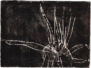 Monotypes comme Cy Twombly
