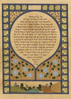 Prière de Maïmonide