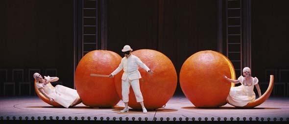 L'amour des trois oranges à l'Opéra - Des nouvelles de la Butte aux Cailles