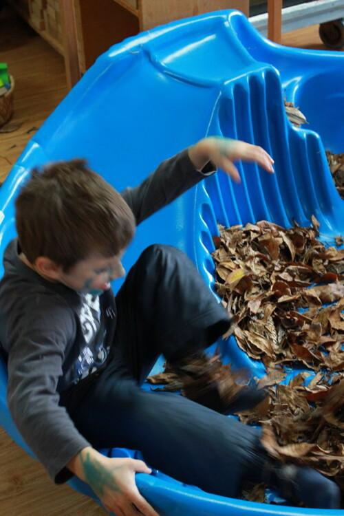 L'automne est arrivé à la Maison des Enfants