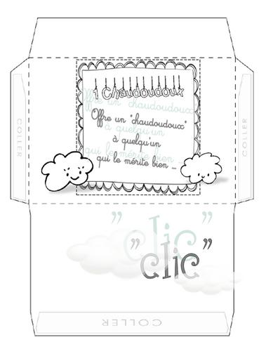 L'enveloppe à Chaudoudoux