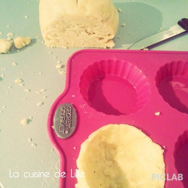 Tartelettes crémeuses au Citron sans gluten, sans lactose