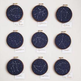 J'adoooore les étoiles, et j'adoooore la broderie. Et ensemble ça donne quoi ?: