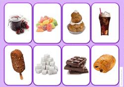 Loto et memory des groupes d'aliments