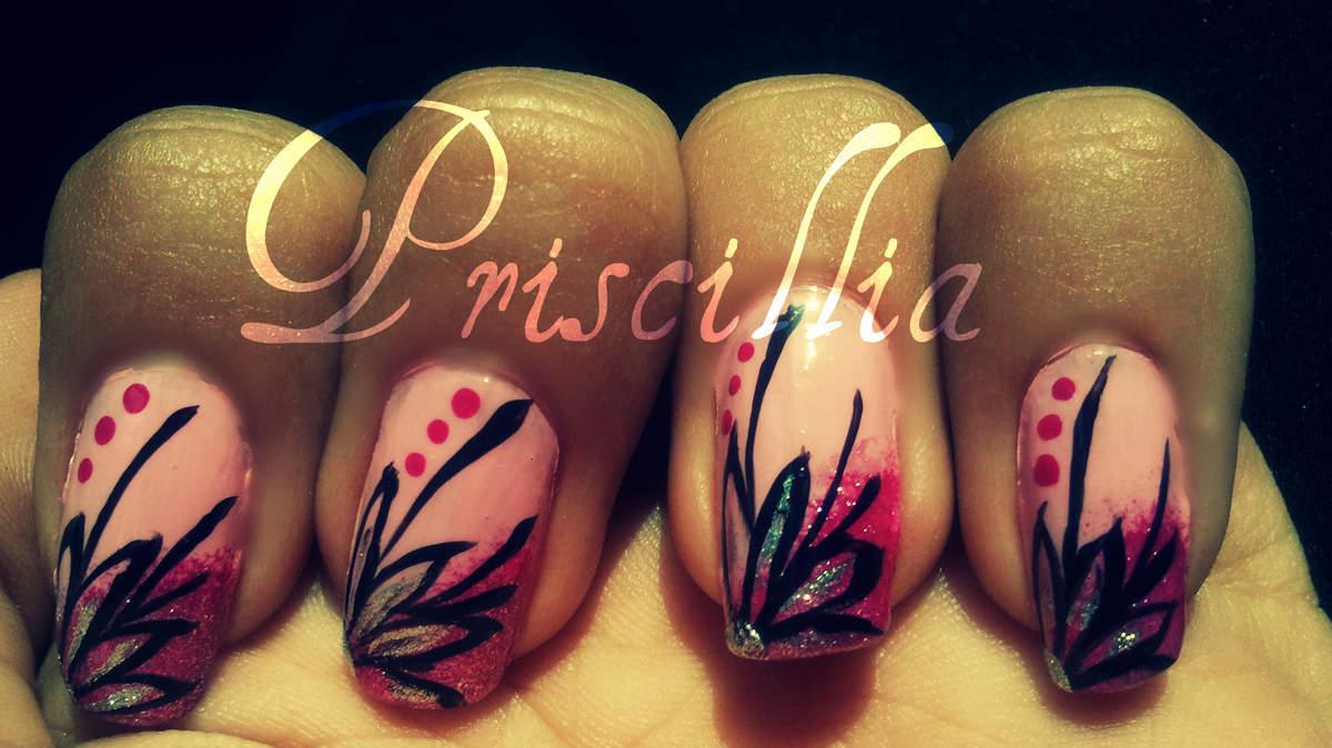 Nail Art Fleur Basique