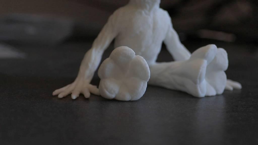 corps de Groot imprimé en 3D