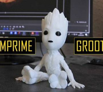 Groot imprimé en 3D