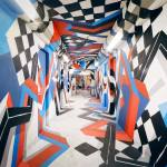 Exposition street-art à la cité U – Rehab 2- Graff de rue dans ton couloir