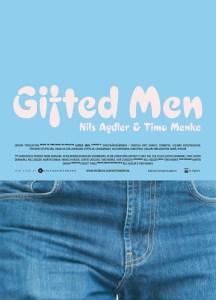 Affisch Gifted Men (blå) (Photo: Nils Agdler © 2015)