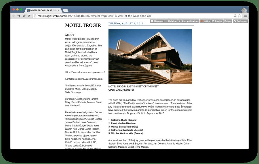 Screenshot 2016-08-02 Motel Trogir