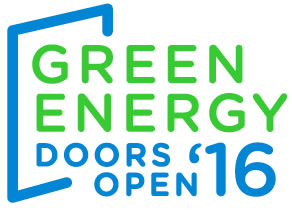Green Energy Doors Open logo