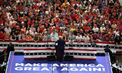 US Election: Candidates Stick To The Campaign Trail Despite Covid-19 Fears