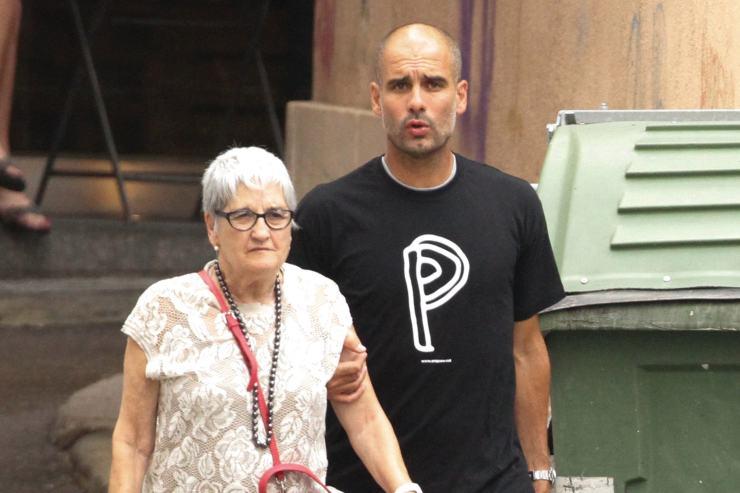 Pep Guardiola's mum Dolors Sala Carrio dies from coronavirus aged 82