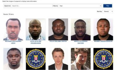 The Federal Bureau of Investigation (FBI) has listed 6 Nigerians nationals among its most-wanted cyber criminals.