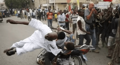 Father, Son Badly Injured As Police Tries To Arrest Okada Rider In Ejigbo
