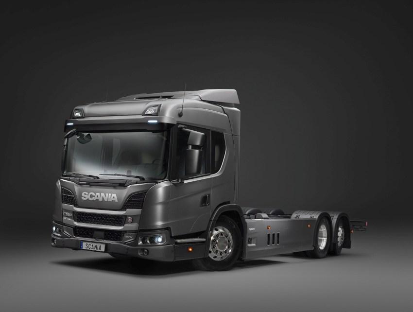 Scania L 320 6x2 hybrid