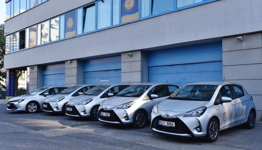 Hybridní vozy Toyota Libereckého kraje