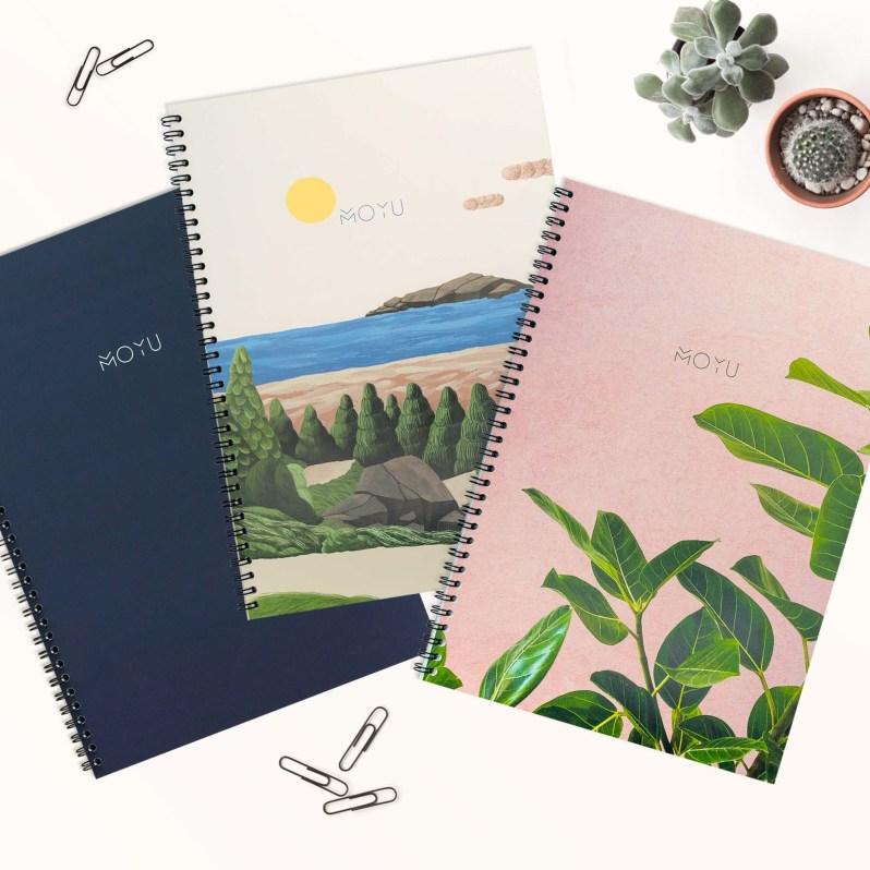 Nachhaltige Notizbücher von Moyà Books