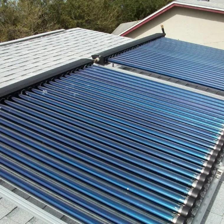 güneş enerjisi vakumlu