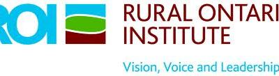 Rural Ontario Institute: Developmental Evaluation