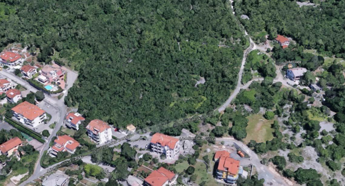 Neizgrađeni dio Pavlovca na snimci iz zraka
