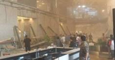 Κατέρρευσε όροφος στο Χρηματιστήριο της Τζακάρτα – 12 τραυματίες